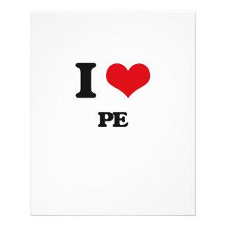 I Love Pe Full Color Flyer