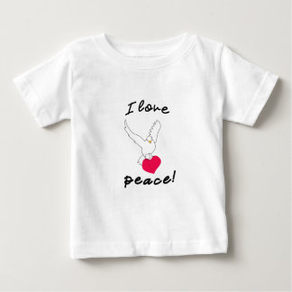 I love peace! baby T-Shirt