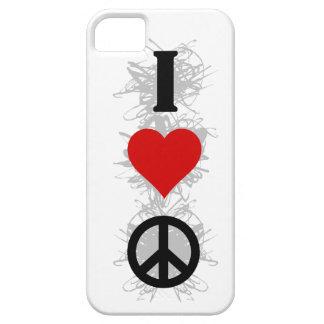 I Love Peace Urban Style iPhone SE/5/5s Case