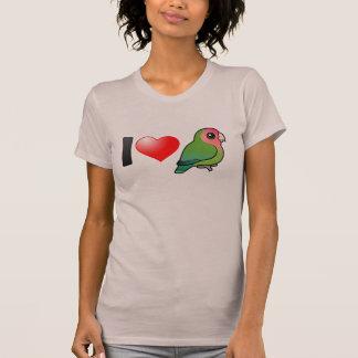 I Love Peach-faced Lovebirds T-Shirt