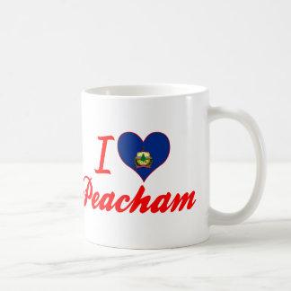 I Love Peacham, Vermont Coffee Mugs