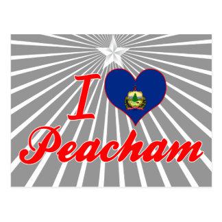I Love Peacham, Vermont Post Card