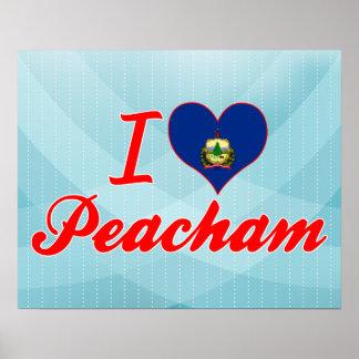 I Love Peacham, Vermont Print