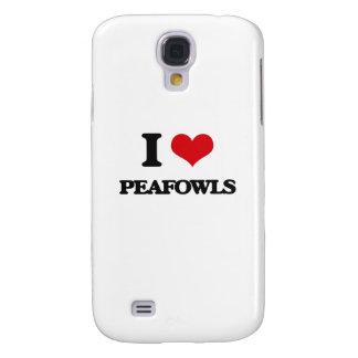 I love Peafowls Samsung Galaxy S4 Case