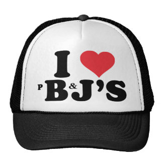 I love peanut butter and jelly's shirt trucker hat