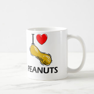 I Love Peanuts Mugs