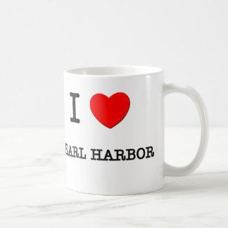 I Love Pearl Harbor Hawaii Coffee Mug