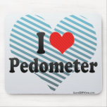 I Love Pedometer Mouse Pad