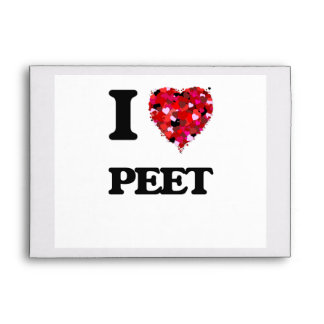 I Love Peet Envelopes