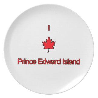 I Love PEI Prince Edward Island Plates
