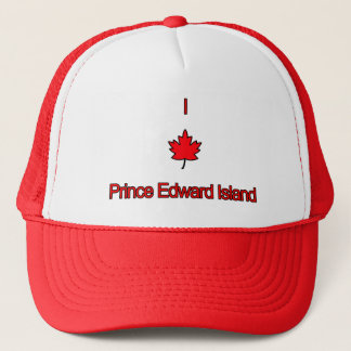 I Love PEI Prince Edward Island Trucker Hat