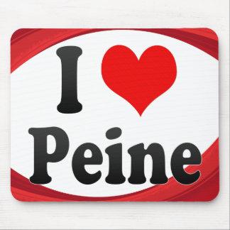 I Love Peine Germany Ich Liebe Peine Germany Mouse Pad