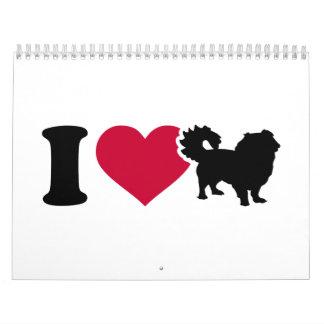 I love pekingese calendar