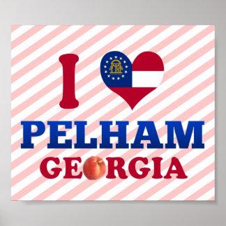 I Love Pelham, Georgia Poster