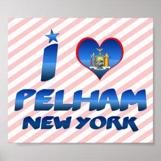 I love Pelham, New York Poster