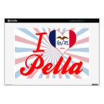 "I Love Pella, Iowa 15"" Laptop Skins"