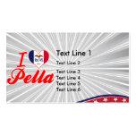 I Love Pella, Iowa Business Card Template
