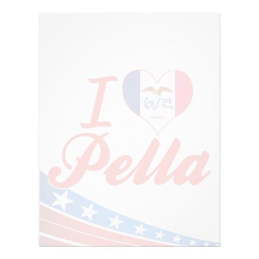 I Love Pella, Iowa Customized Letterhead