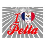 I Love Pella, Iowa Postcard