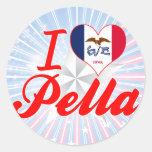 I Love Pella, Iowa Stickers