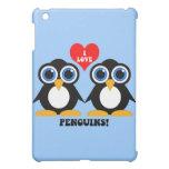 I love penguins iPad mini covers