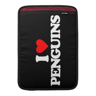 I LOVE PENGUINS SLEEVE FOR MacBook AIR