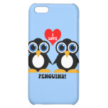 I love penguins iPhone 5C cover