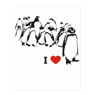 I love Penguin's Postcard