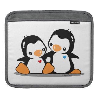 I Love Penguins Rickshaw Sleeve Sleeves For iPads