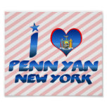 I love Penn Yan, New York Poster