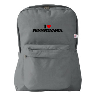 I LOVE PENNSYLVANIA BACKPACK