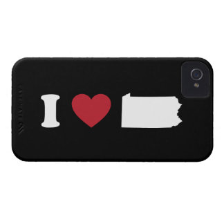 I Love Pennsylvania iPhone 4 Case-Mate Case