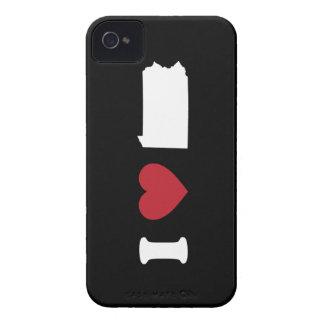 I Love Pennsylvania iPhone 4 Case-Mate Cases