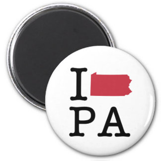I Love Pennsylvania Fridge Magnets