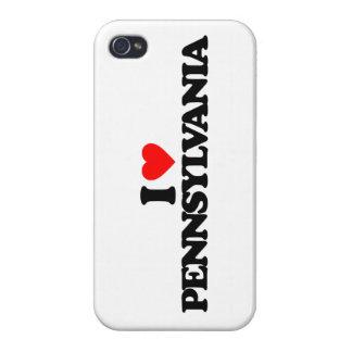 I LOVE PENNSYLVANIA iPhone 4/4S COVER