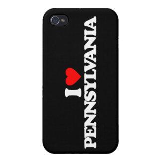I LOVE PENNSYLVANIA iPhone 4 COVER