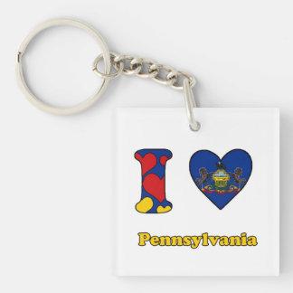 I love Pennsylvania Sleutelhangers