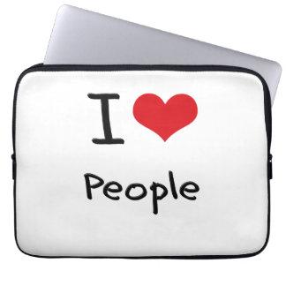 I love People Computer Sleeve