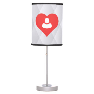I Love People Modern Table Lamps