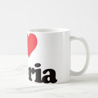 I Love Peoria Coffee Mug