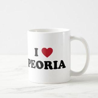 I Love Peoria Illinois Coffee Mug