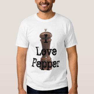 I Love Pepper - Customized T Shirt