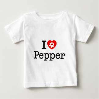 I love Pepper T Shirt