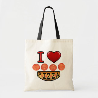 I love pepperoni pizza. bag