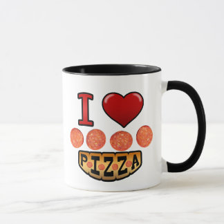 I love pepperoni pizza. mug