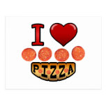 I love pepperoni pizza. post cards