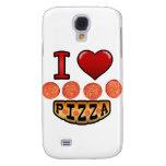I love pepperoni pizza. samsung galaxy s4 case