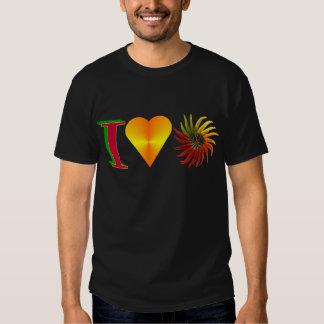 I Love Peppers Tee Shirt