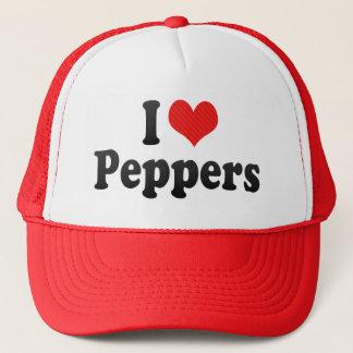 I Love Peppers Trucker Hat