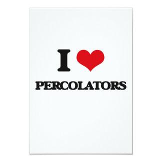 I Love Percolators Custom Announcement Card